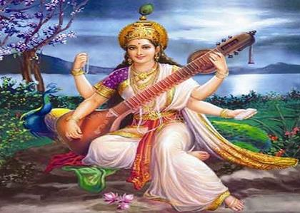 Saraswati Maa's blessing for Students