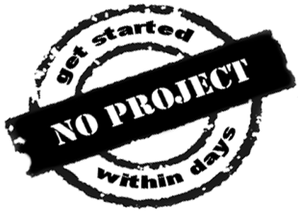 Don't start a new project
