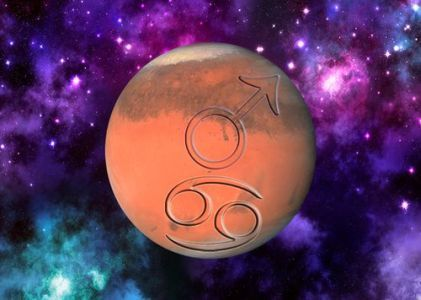 Mars turn Debilitated in Sign Cancer