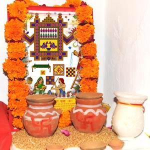 Celebrating the joy of being a mother - Fast for Ahoi Ashtami
