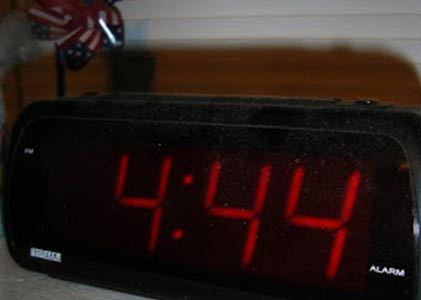 If you see 4:44, you need to be closer to your loved ones!
