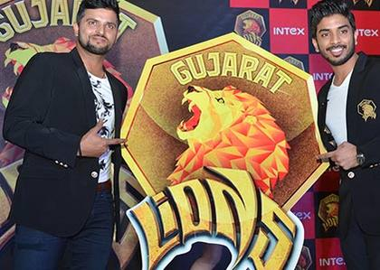 Gujarat Lions led by Suresh Raina