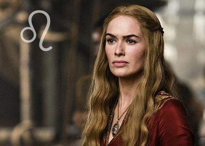 Cersei Lannister, the regal lioness aka Leo
