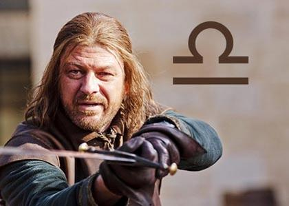 Eddard Ned Stark, the just Libran
