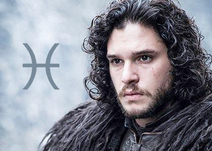 Jon Snow, the sensitive Pisces