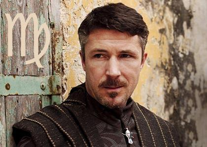Petyr Baelish 'Little Finger', an organized Virgo
