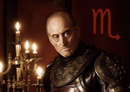 Tywin Lannister, the shrewd Scorpio
