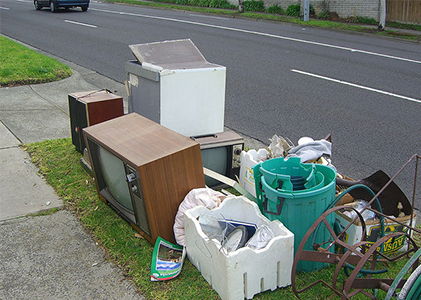 Throw away the unwanted stuff