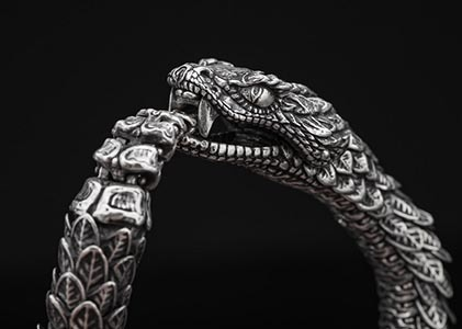 Gift the silver snake