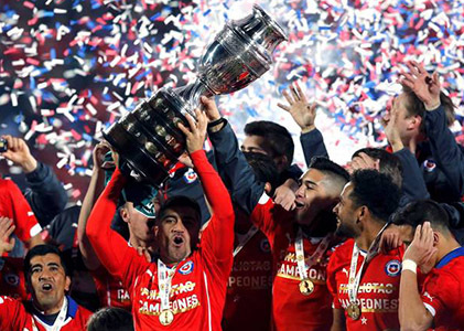 Chile defeated Argentina to win the Copa America Trophy