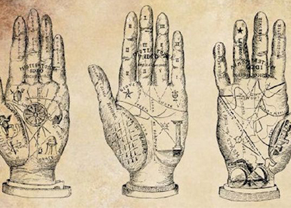 Palmistry was a well-developed science in ancient India