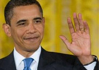 44th President of the United States, Barack Obama has a long thumb