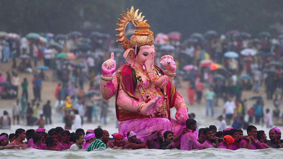 Puja over the next ten days of Ganesh Chaturthi