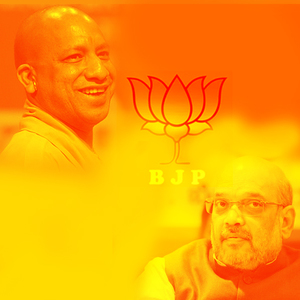 Stars of BJP Amit Shah and Yogi Adityanath