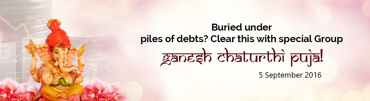 Clear your debts with special Group Ganesh Chaturthi Puja!