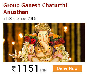 Group Ganesh Chaturthi Anusthan: 5th September 2016