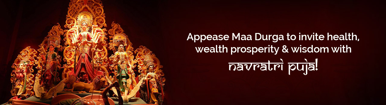 Seek Ma Durga's blessings with special Navratri Puja!
