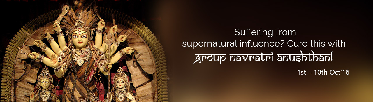 Seek Ma Durga's blessings with Group Navratri Puja!