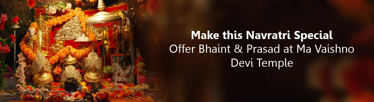 Seek Ma Vaishno's blessing by offering Bhaint!
