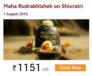 Maha Rudrabhishek on Shravan Shivratri :1st August 2016