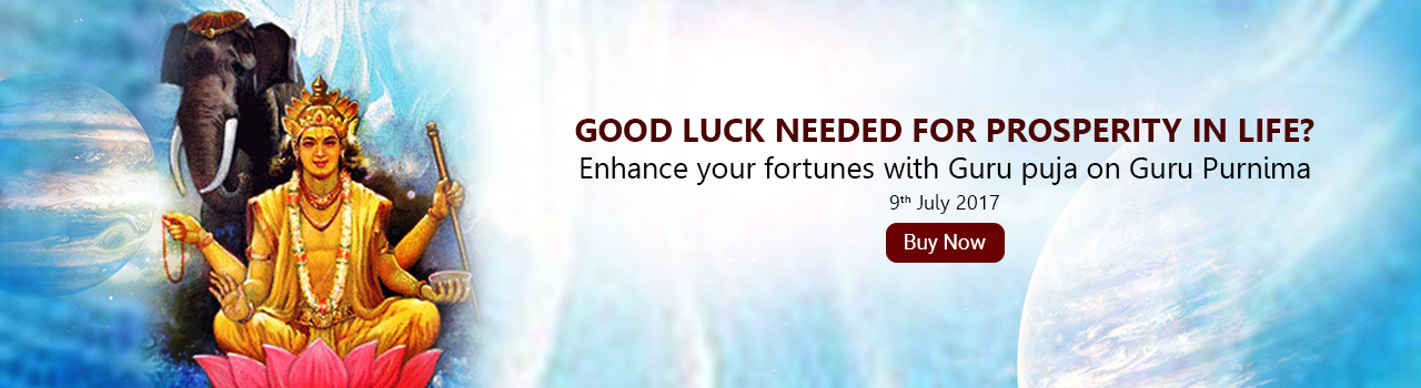 This puja enhances your fortunes & luck