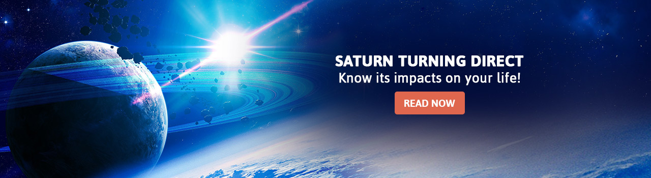 What is Saturn turning direct